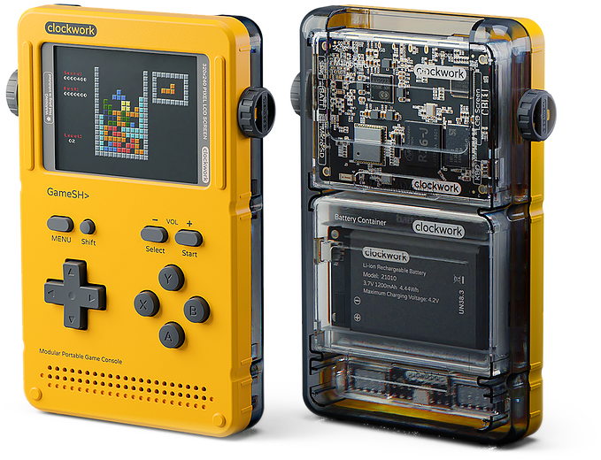 GameShell Looks Perfect for Retro Game Developers and Players