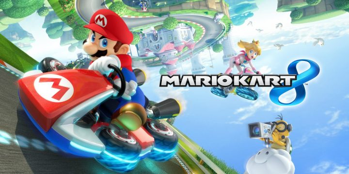 Luigi's death stare: are you enjoying Mario Kart 8?